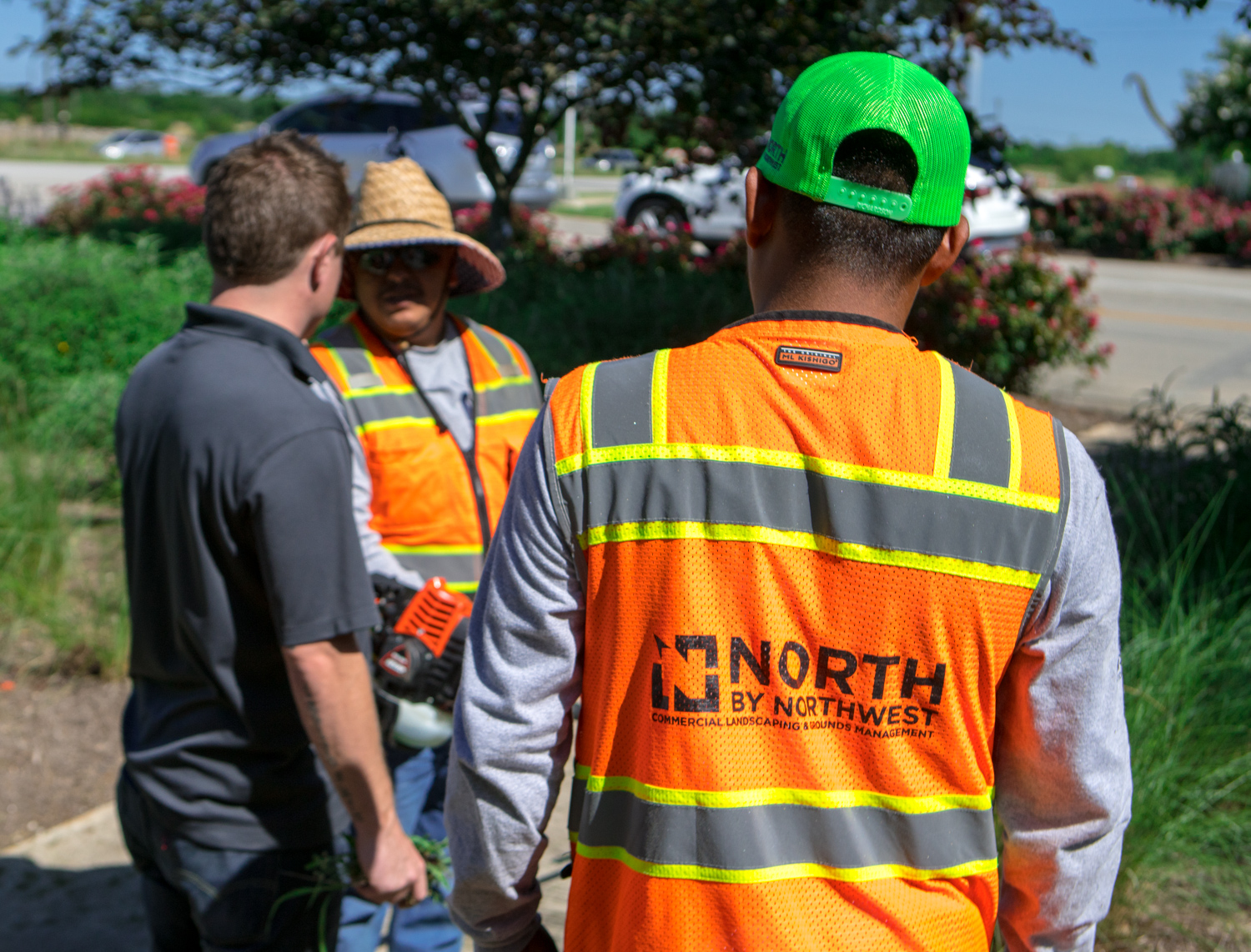 North By Northwest commercial landscapers working