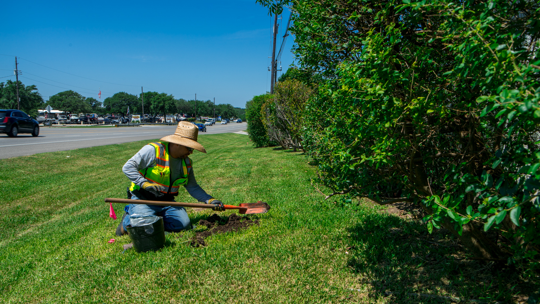 HOA irrigation inspection